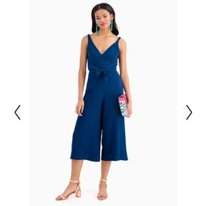 Amanda Uprichard Pants Cherri Strapless Cropped Jumpsuit Poshmark